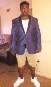 Blue Sportcoat Jacket Dinner
