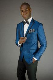 Blue Suit or Tuxedo