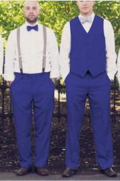 Color Matching Groomsmen Wedding