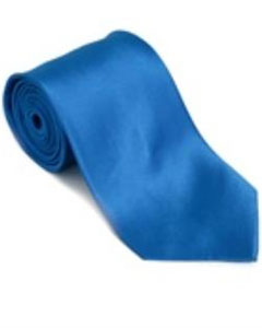 ID#VG821 Royalblue Silk Basic Solid Groomsmen Vest Plain Necktie With Handkerchief Groomsmen Ties (Buy 10 of same color Tie For $15 Each)