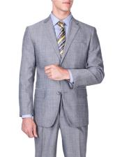 ID#DB19994 Sharkskin Inexpensive Affordable Discounted Authentic Modern Fit Suits