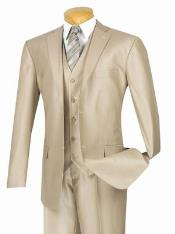 Gloss Shiny Sharkskin MetallicSuit