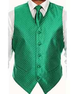 Vest  Four-piece Green