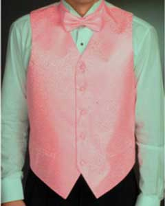 Four-piece Groomsmen Wedding Vest