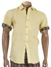 Sleeve Two Piece Yellow