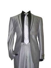 Tuxedo Silver Grey Tux