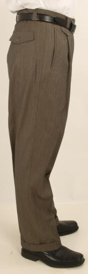 Leg Single Pleated creased