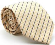 Single Striped Ties Yellow