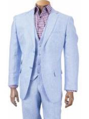 Pocket Summer Linen Suits