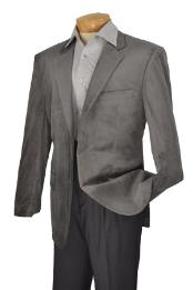 ID#KA1179 Edition High Fashion Slim Fit velvet Best Cheap Blazer For Affordable Cheap Priced Unique Fancy For Men Available Big Sizes on sale Men Affordable Sport Coats Sale Gray