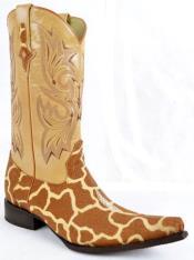 stingray Skin Western Boot