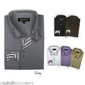ID#PNN72 Classic Stylish Dress Cheap Fashion Clearance Shirt Sale Online For Men Multi-Color