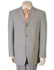 Mens Tan Color Wool Suit