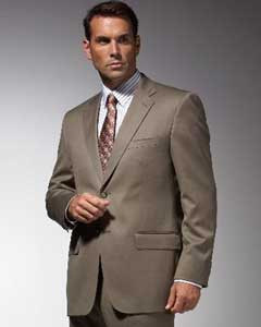 ID#TU7632 Taupe affordable suit online Reduced Price