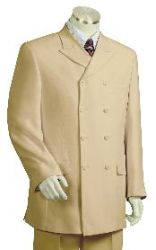 Fashion Taupe Zoot Suit
