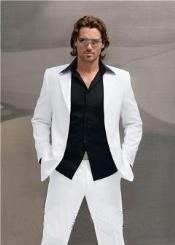 Snow All White Suit