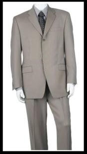 ID# OSJ464 Luxurious High End UMO Collezion Three buttons Side Vent Superior fabric 140's Wool fabric Three buttons