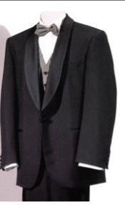 Tuxedo Shawl Collor