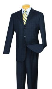 Pattern Suit Pleated creased