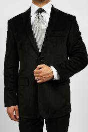 ID#KA1151 Dark color black Luxurious Velvet Highlights Two-Button 1920s 1940s Mens Fashion Vintage Style and Boys Sizes Best Cheap Blazer For Affordable Cheap Priced Unique Fancy For Men Available Big Sizes on sale Men Affordable Sport Coats Sale