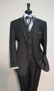 Button Single Breasted Suit