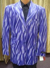 ID#ZZ11 Flame Jacket in Purple pastel color Best Cheap Blazer Suit Jacket Affordable Cheap Priced Unique Fancy For Men Available Big Sizes on sale For Men Affordable Sport Coats Sale