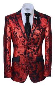 Button Peak Collared Fashion