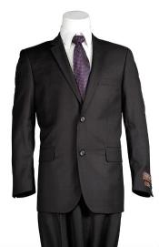 Plaid Suit Black Cheap