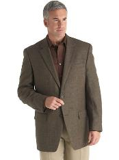 ID#NH7299 Two buttons Coco Chocolate brown Check Designer Casual Cheap Priced Fashion Blazer Dress Jacket Unique Fancy For Men Available Big Sizes on sale Affordable Sport Coats
