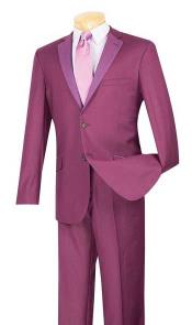 ~ Burgundy Suit or