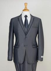 Piece Slim Cut Suit