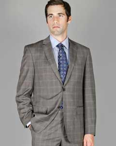 Windowpane 2-Button  Cheap