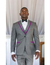 Buttons Tuxedo Gray ~