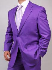 ID#KA1459 Two Button Purple/Lavender pastel color Suit