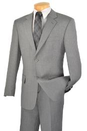 buttons Gray Suit