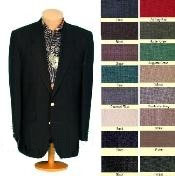 ID# TNP755 Two buttons Front 4 on Sleeves Fully Lined Metal Buttons Sportcoat Jacket All Colors