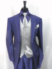 Toned Tuxedo Trimmed Jacket