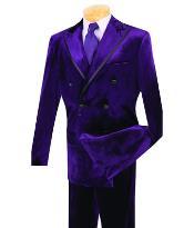 Purple pastel color Velvet
