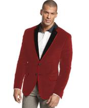 Velour Sportcoat Jacket Formal