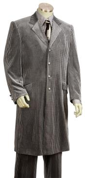 lVelvet Grey Zoot Suit