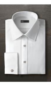 Laydown Evan Tuxedo Shirt