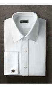Tuxedo Marshall White Shirt