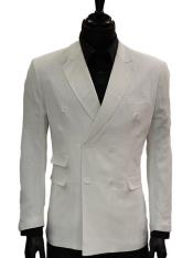 Solid White Slim Fit