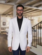 ID#BC-35 Summer Linen For Beach Wedding outfit Light Weight Best Cheap Blazer ~ Suit Jacket For Affordable Cheap Priced Unique Fancy For Men Available Big Sizes on sale Men Affordable Sport Coats Sale ~ Jacket White