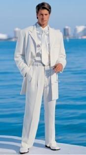 White Modern Dress
