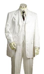 Mens White Zoot Suit