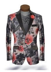 color black Collared Tuxedo