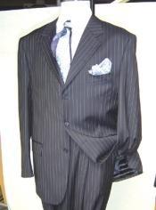 Dress Pinstripe Three buttons