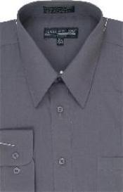 Dress Shirt Charcoal Masculine