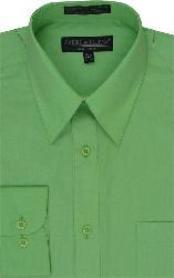 Dress Shirt Lime kelly